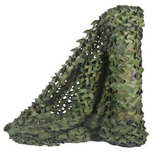 Mallas, telas y redes de camuflaje