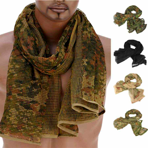 Bufanda de camuflaje